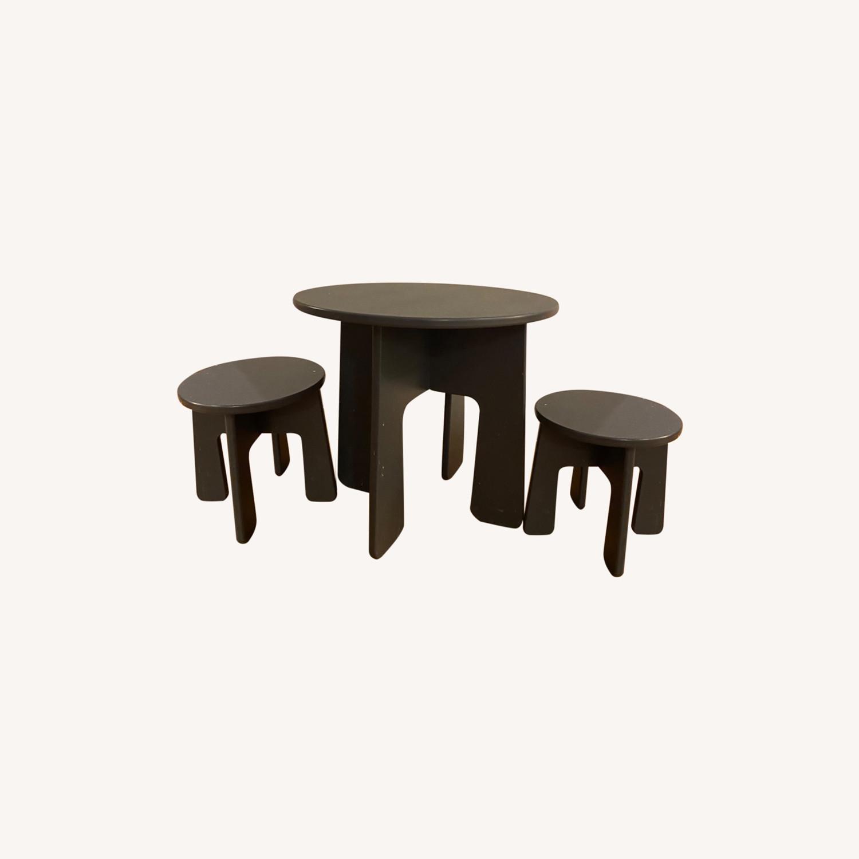 Room & Board Loki Kids Table and Stools - image-0