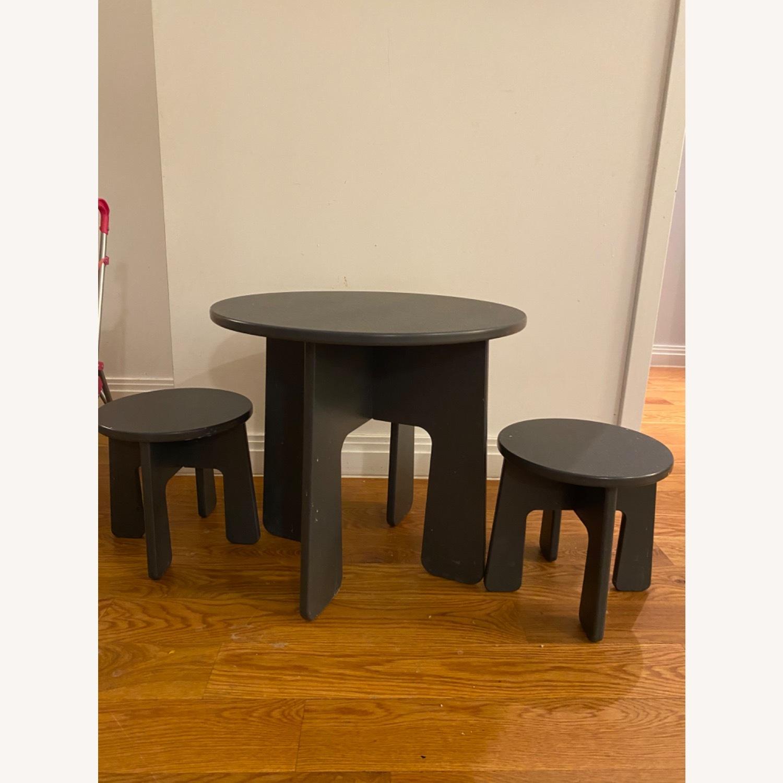 Room & Board Loki Kids Table and Stools - image-1