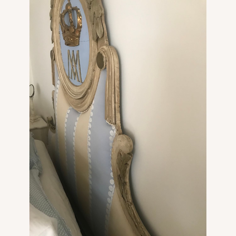 Upholstered Antique Headboard - image-3