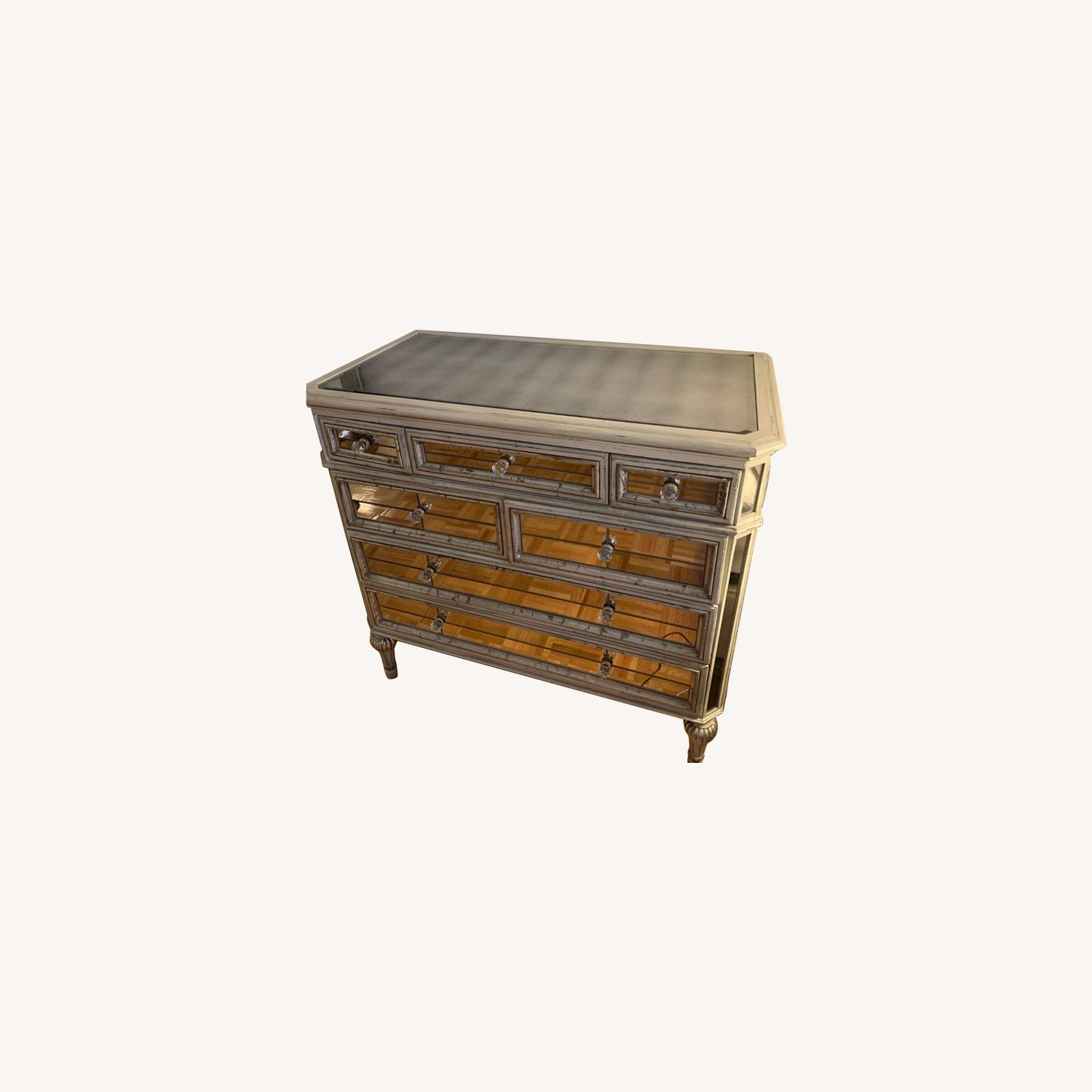 Horchow Dresden Mirrored Chest - image-0