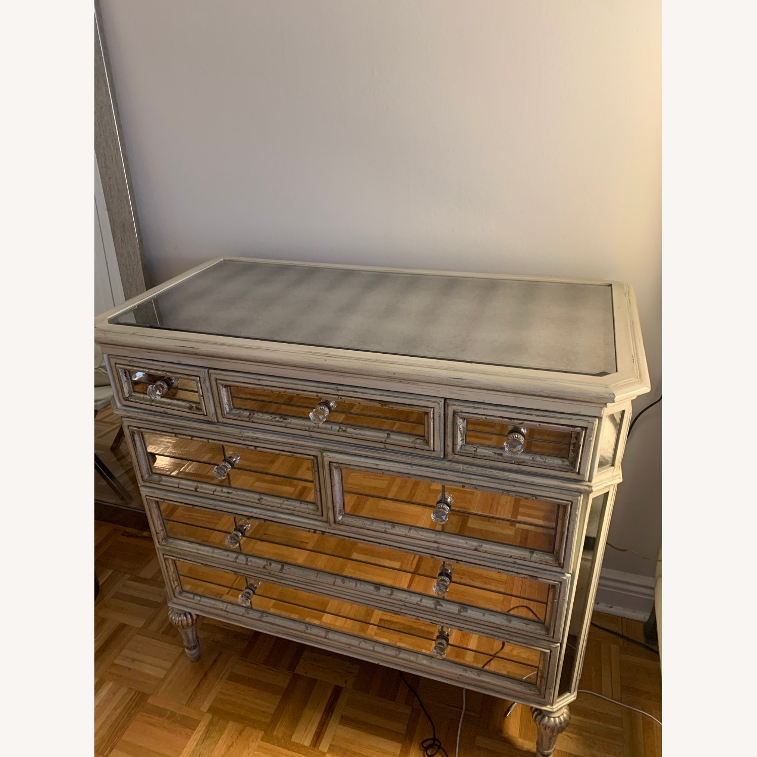 Horchow Dresden Mirrored Chest - image-2