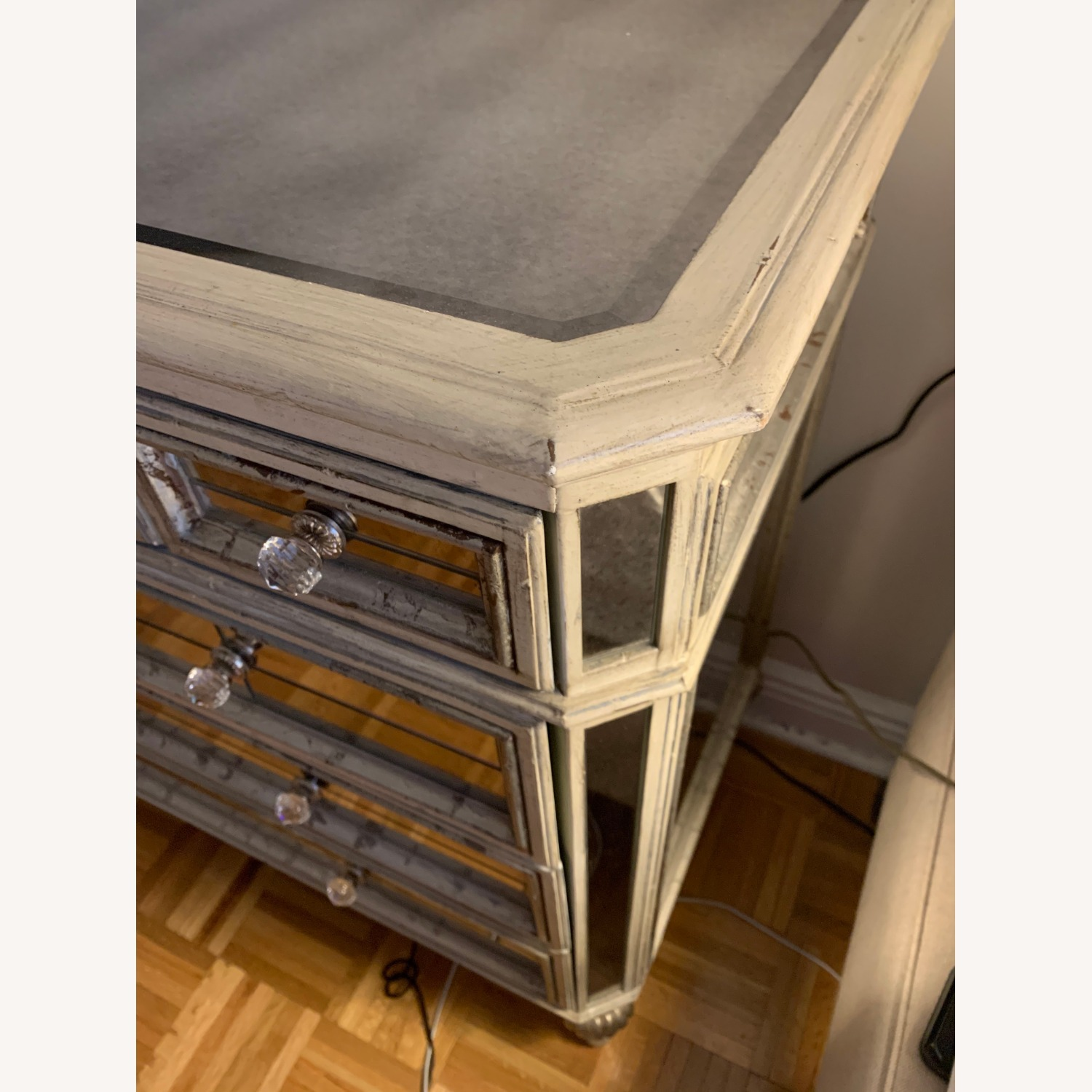 Horchow Dresden Mirrored Chest - image-4