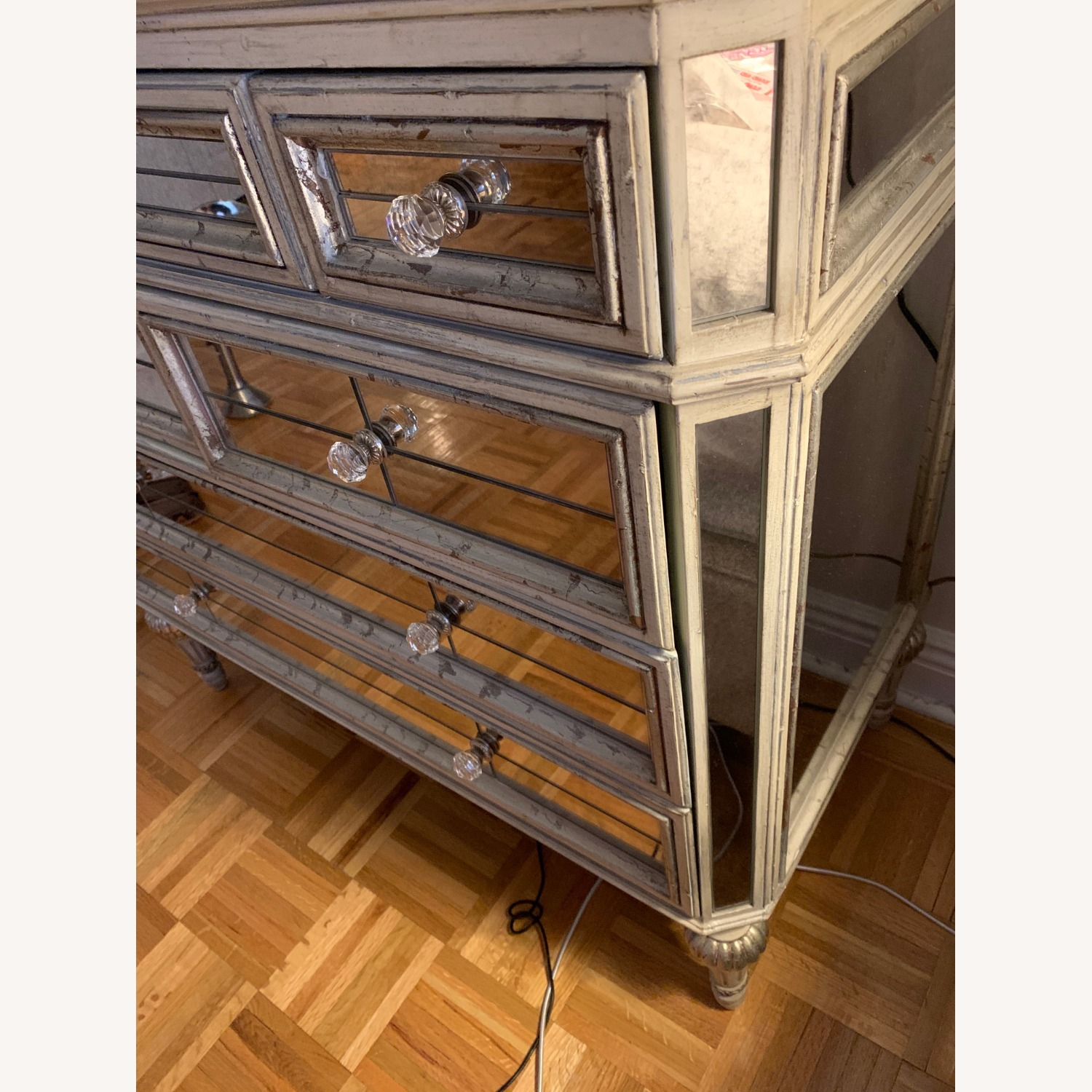 Horchow Dresden Mirrored Chest - image-3