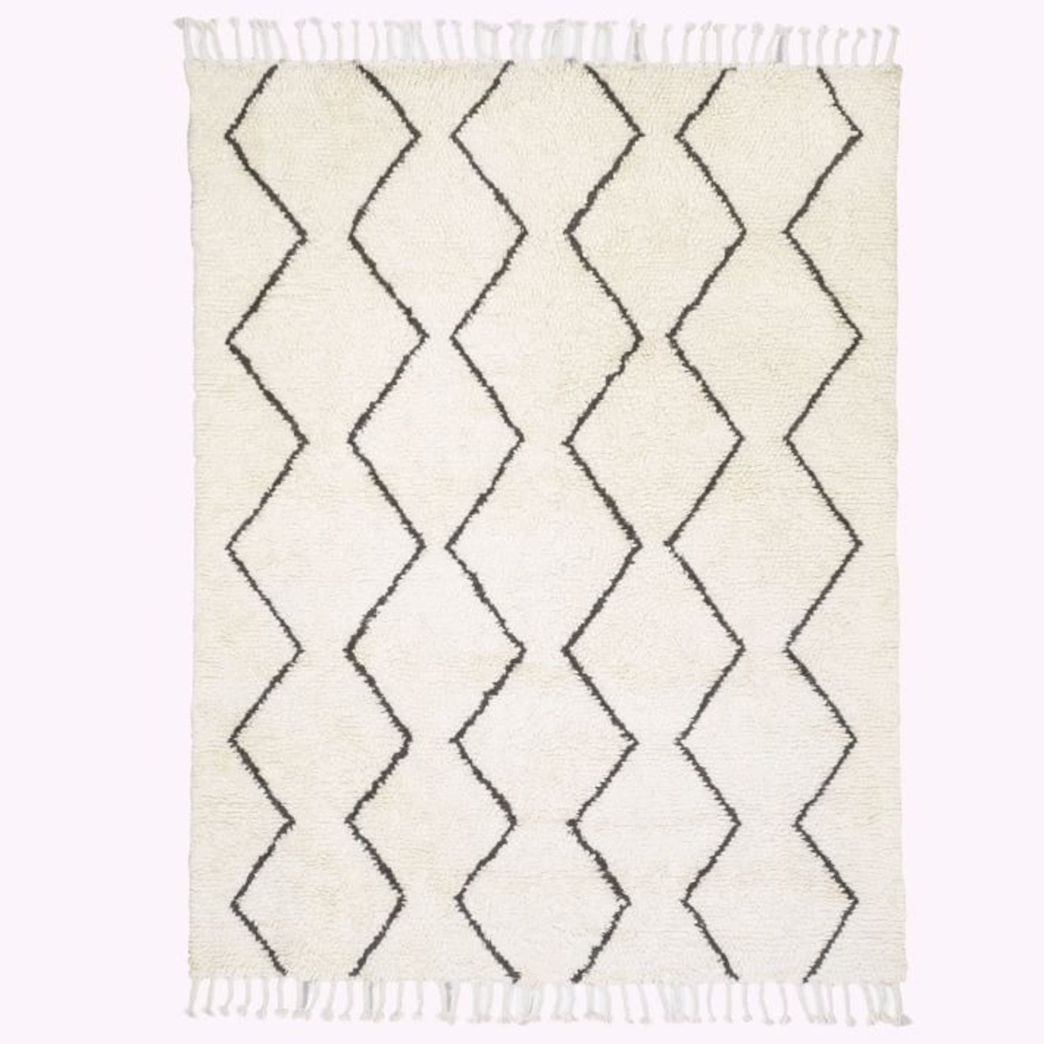West Elm Wool Souk Rug 9x12 - image-2