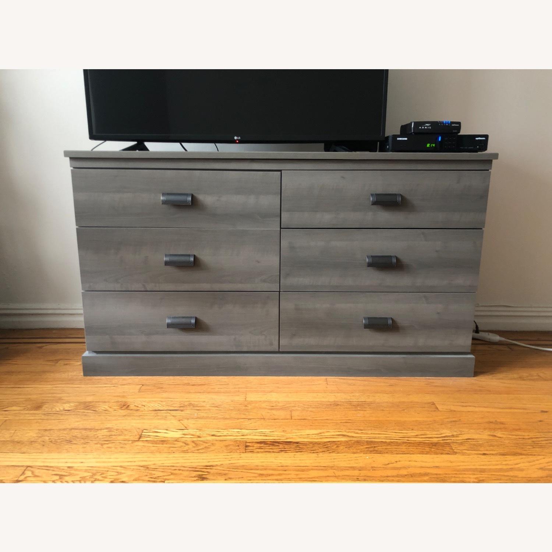 Gray Modern Dresser - image-0