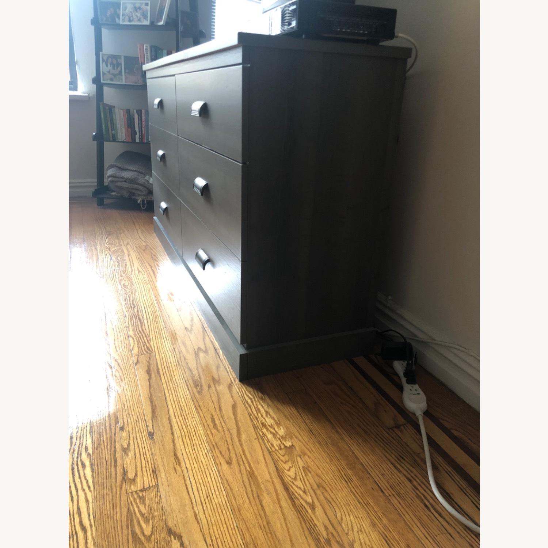 Gray Modern Dresser - image-1