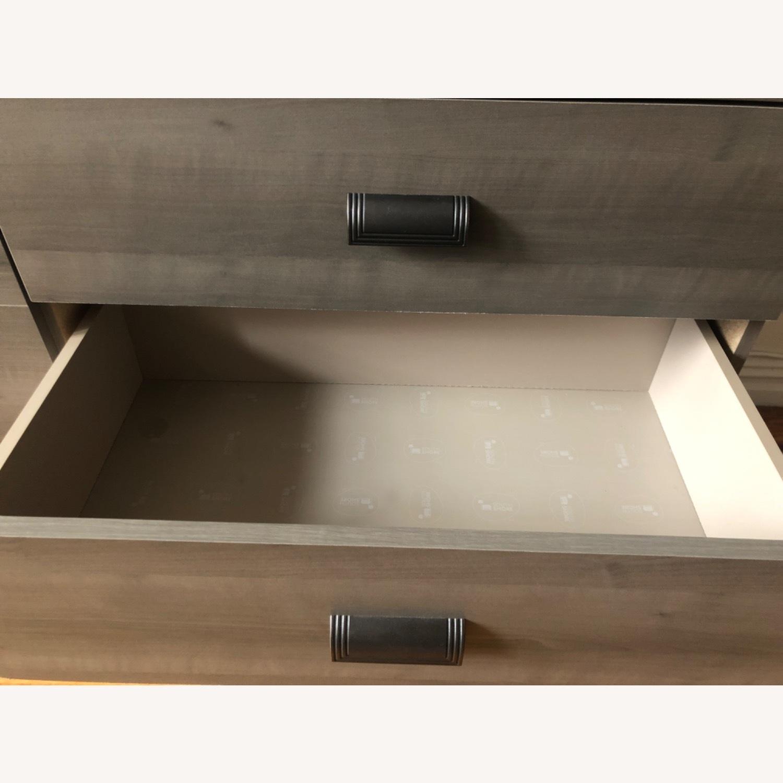 Gray Modern Dresser - image-3