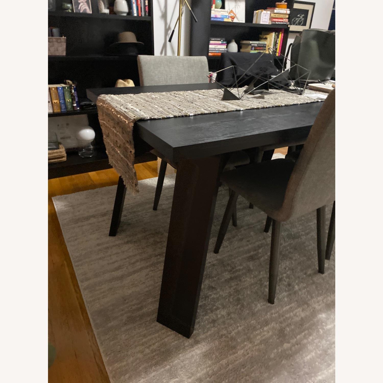 Taylor Made Custom Furniture Black Mahogany Table - image-3