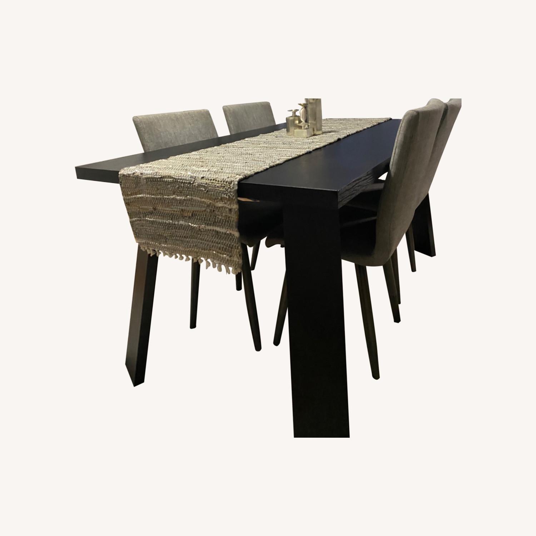 Taylor Made Custom Furniture Black Mahogany Table - image-0