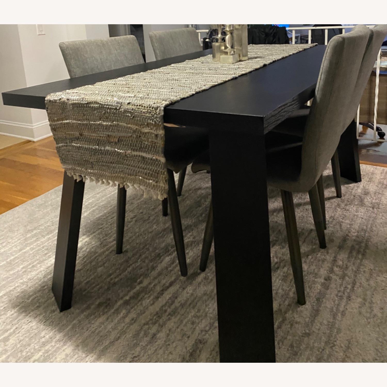 Taylor Made Custom Furniture Black Mahogany Table - image-1