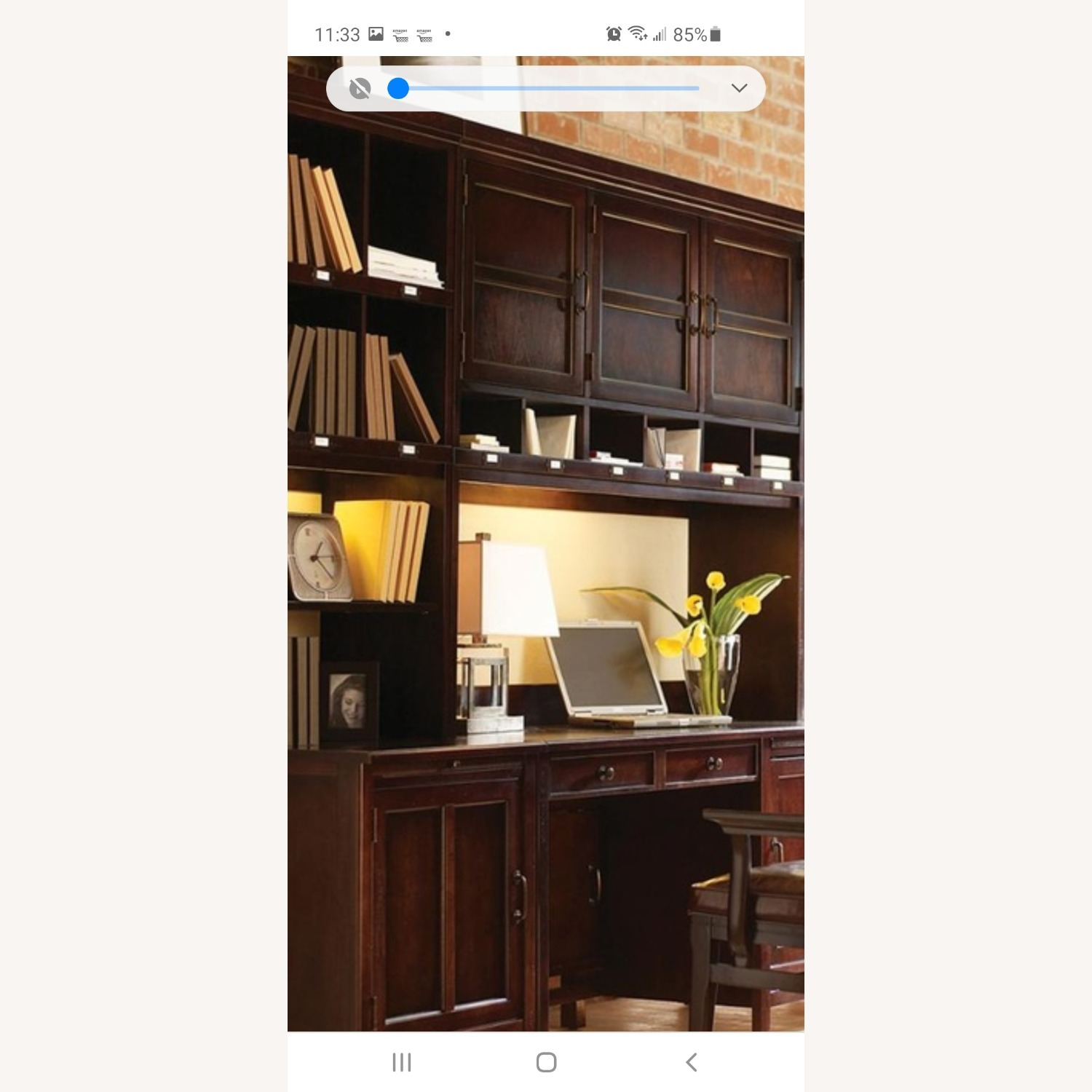 Stanley Desk, Hutch and Side cabinet - image-0
