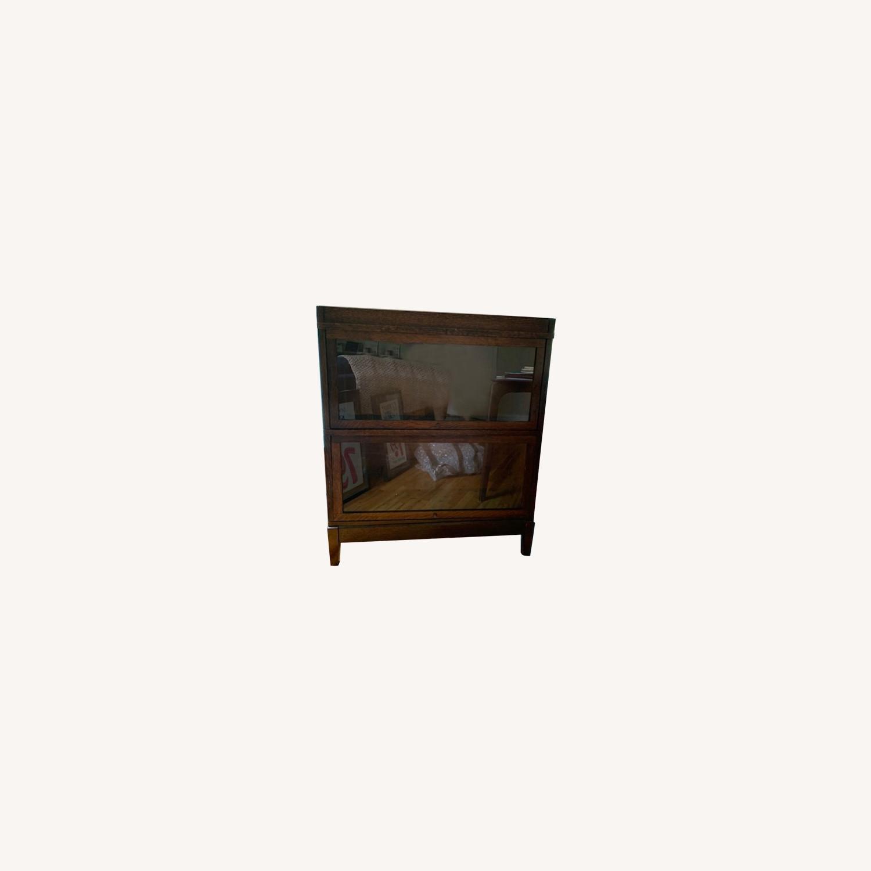 Antique Globe Wernicke Barrister Bookcase - image-0