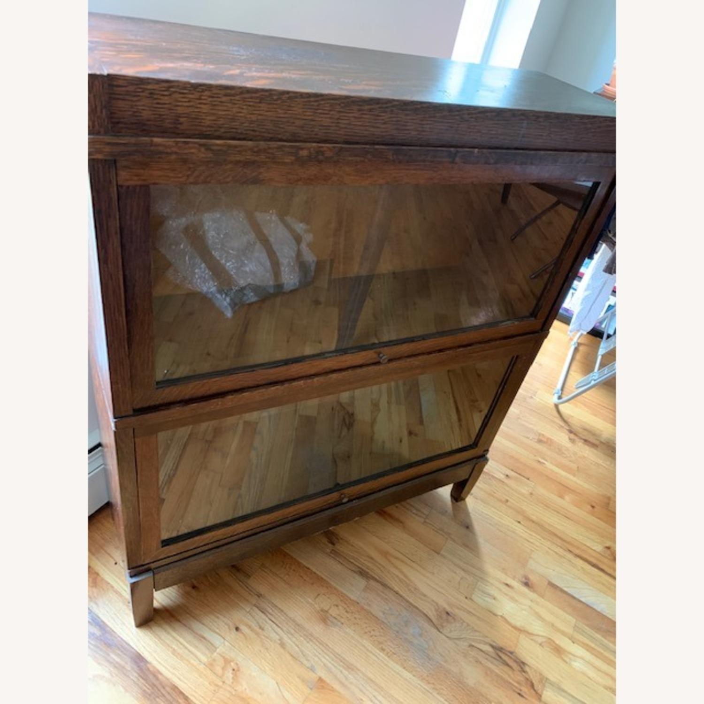 Antique Globe Wernicke Barrister Bookcase - image-5