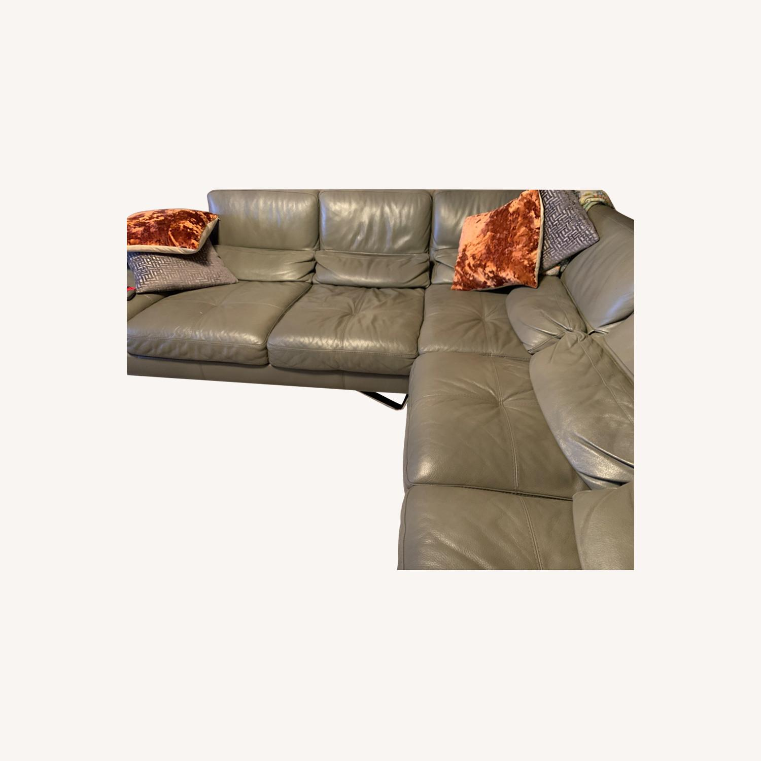 Italian Leather Set of 3 - image-0