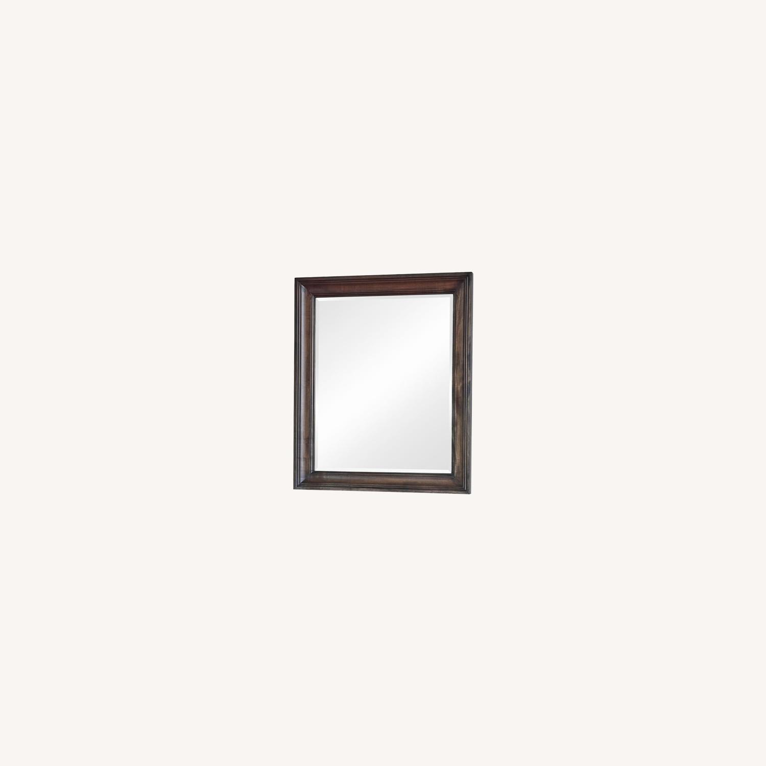 Vanity Mirror In Weathered Burnished Brown Finish - image-3