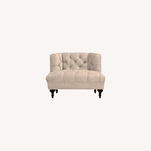 Used Jonathan Adler T-Arm Baxter Chair for sale on AptDeco