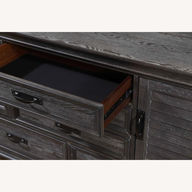 Dresser W/ Self-Closing Drawer In Weathered Sage - image-2