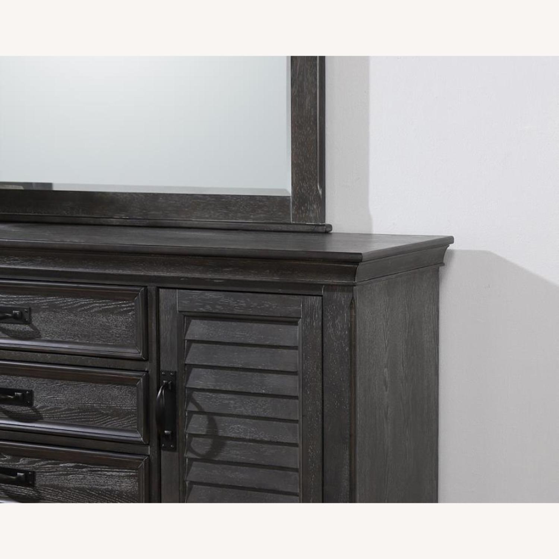 Dresser W/ Self-Closing Drawer In Weathered Sage - image-1