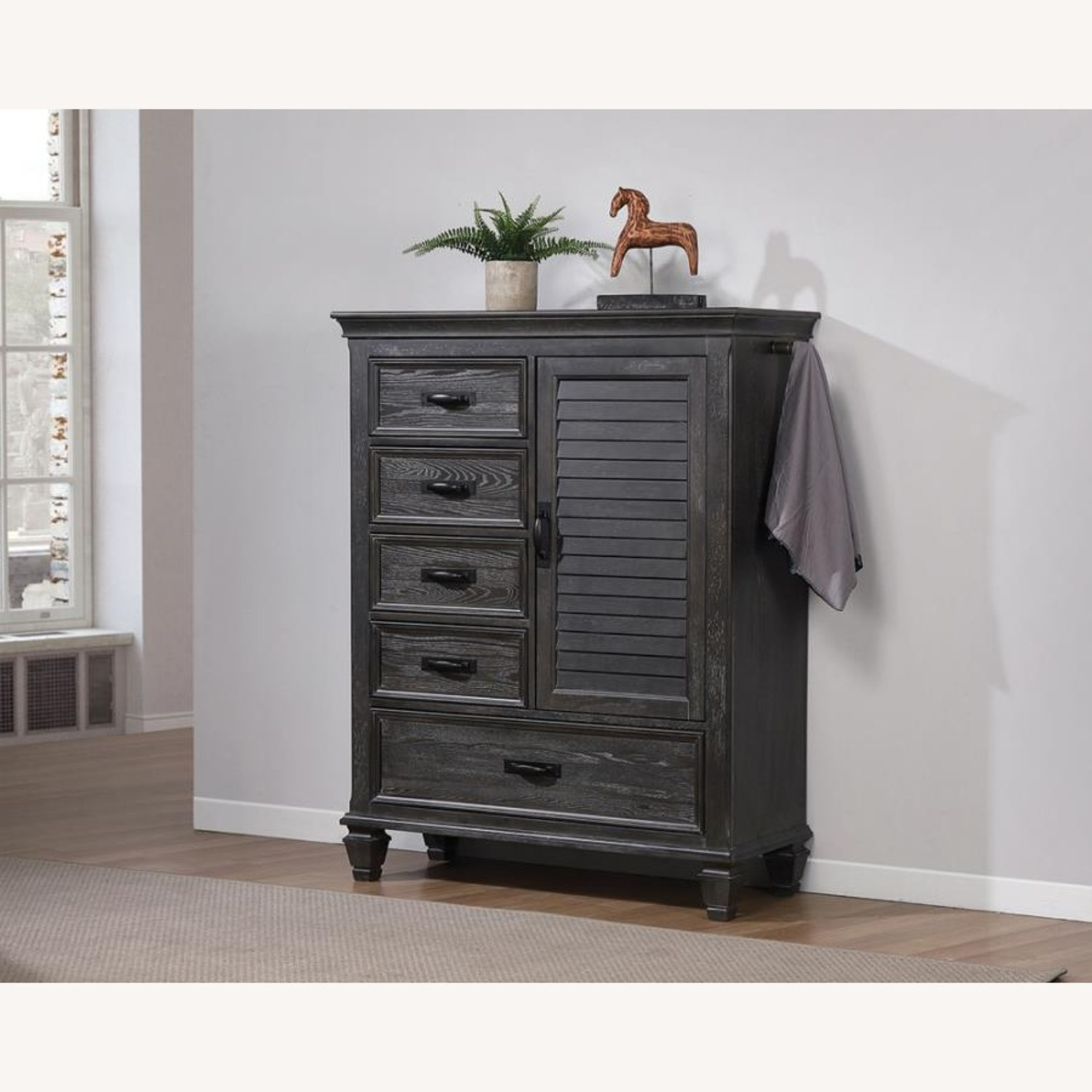 Gentleman's Chest In Weathered Sage Finish - image-2