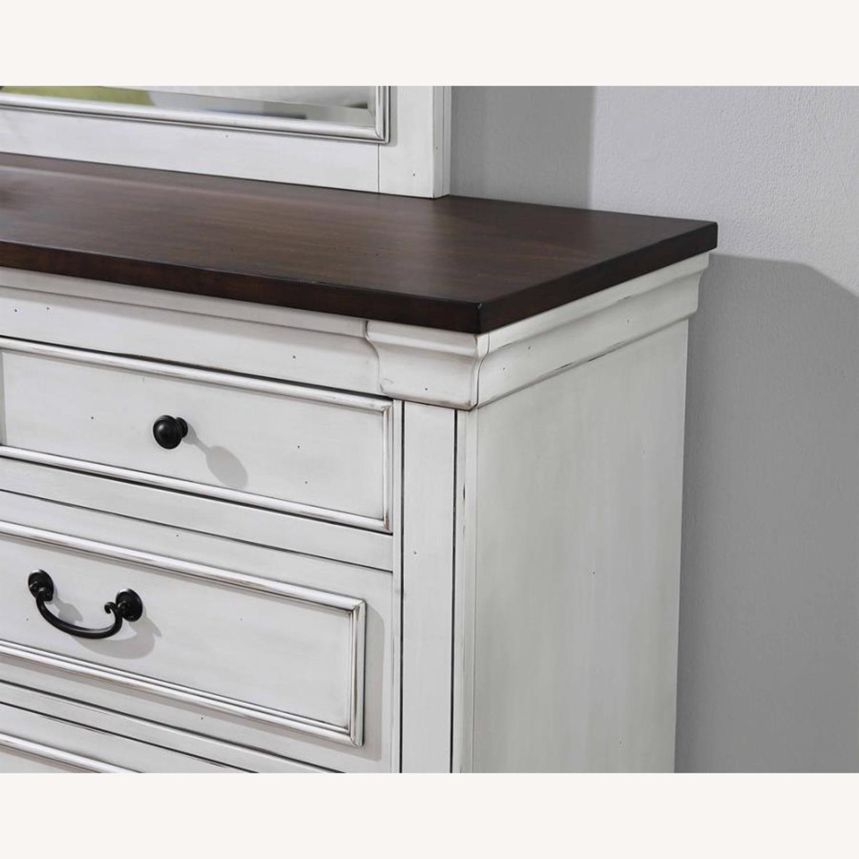 9-Drawer Dresser In Dark Rum Finish - image-2