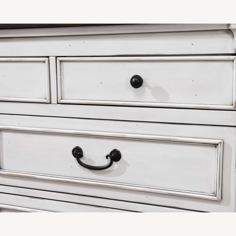 9-Drawer Dresser In Dark Rum Finish - image-3
