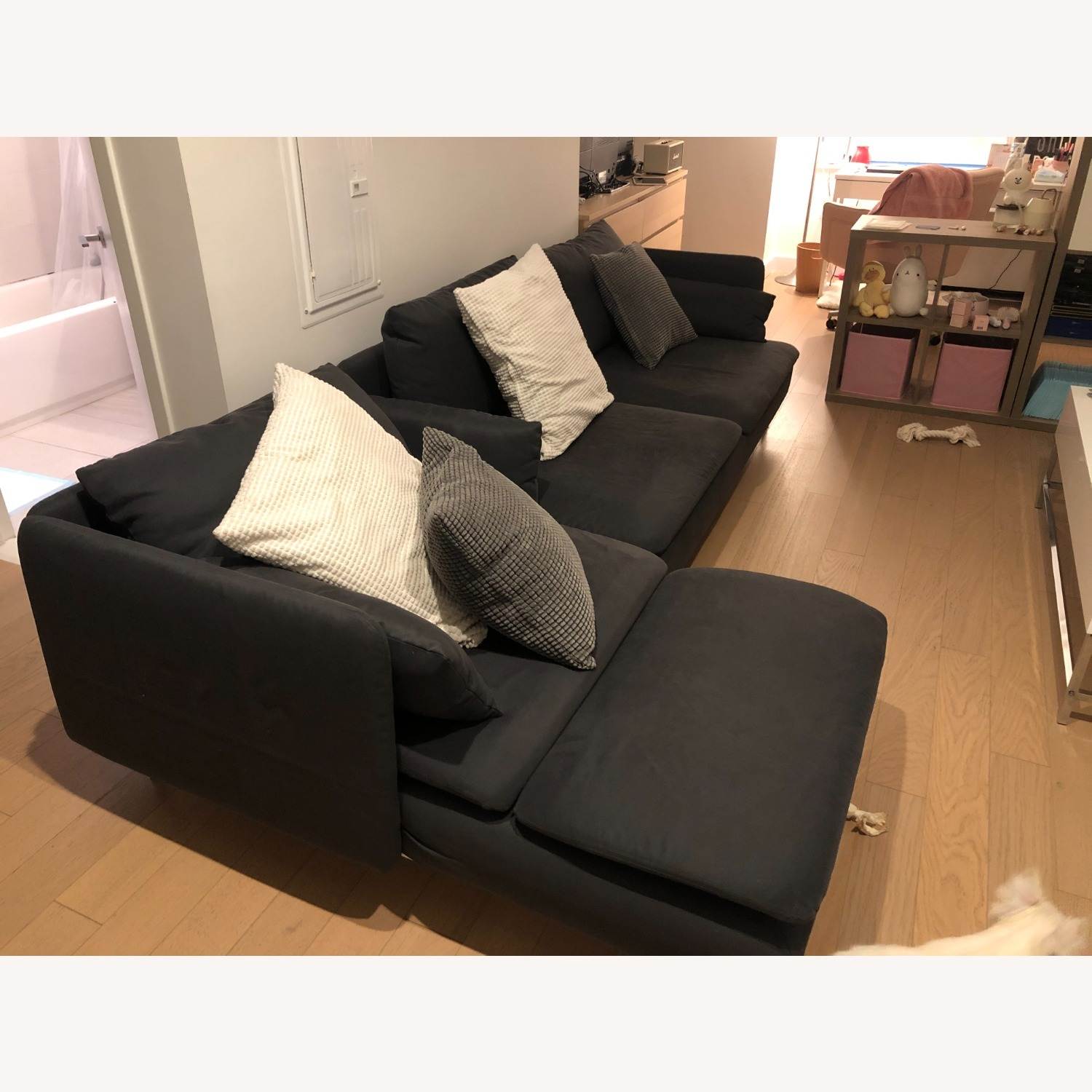 IKEA SDERHAMN Sectional, 4-seat, with chaise - image-2