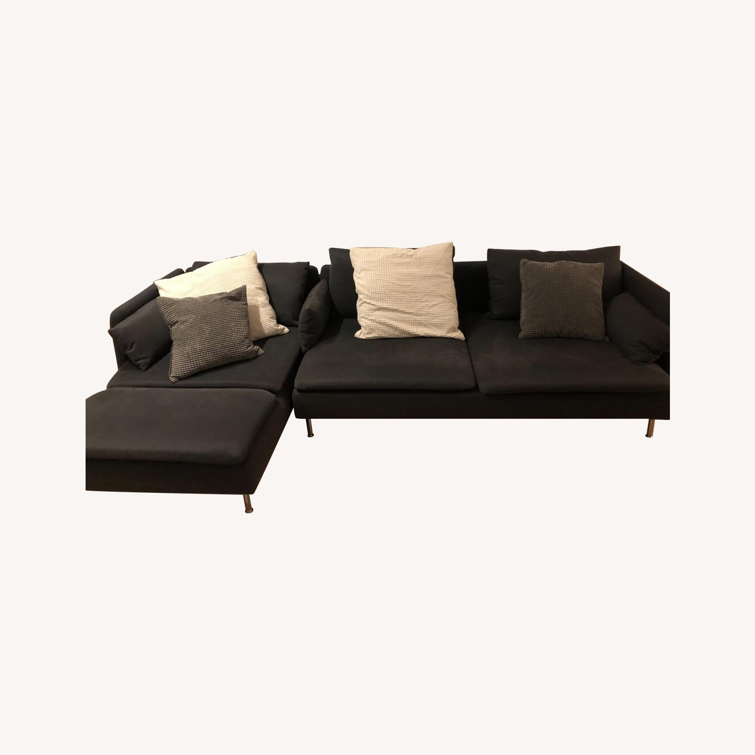 IKEA SDERHAMN Sectional, 4-seat, with chaise - image-0