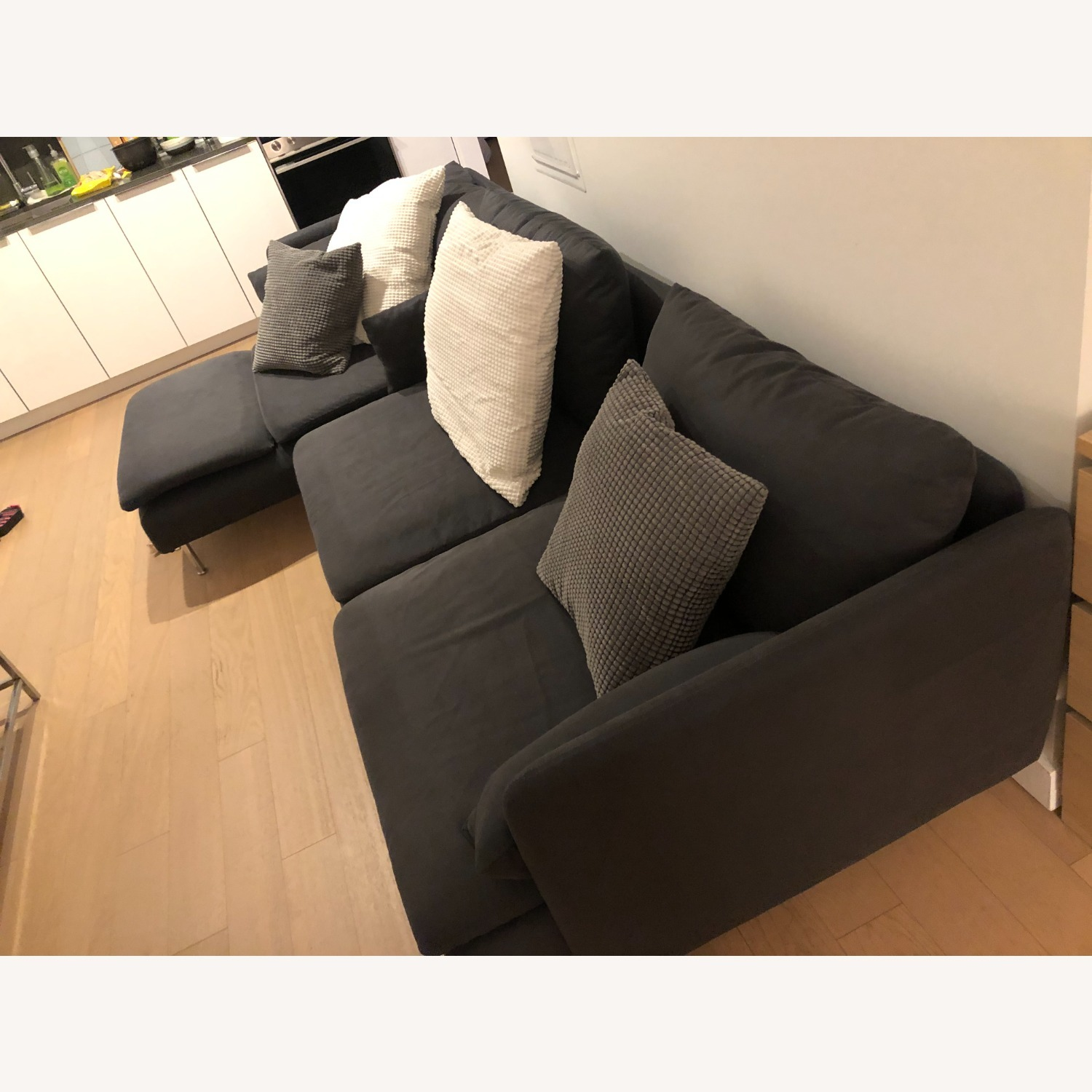 IKEA SDERHAMN Sectional, 4-seat, with chaise - image-3