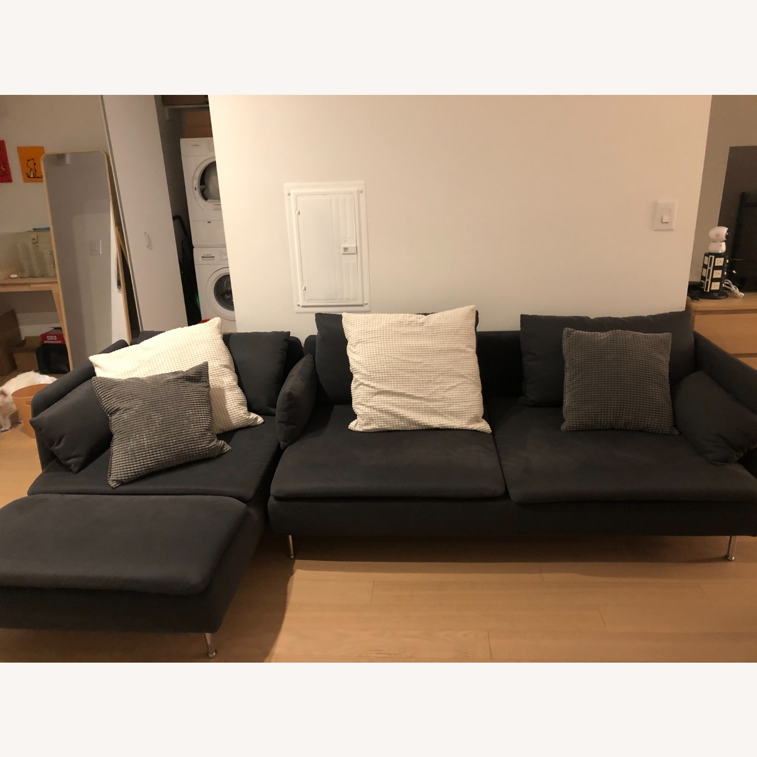 IKEA SDERHAMN Sectional, 4-seat, with chaise - image-1