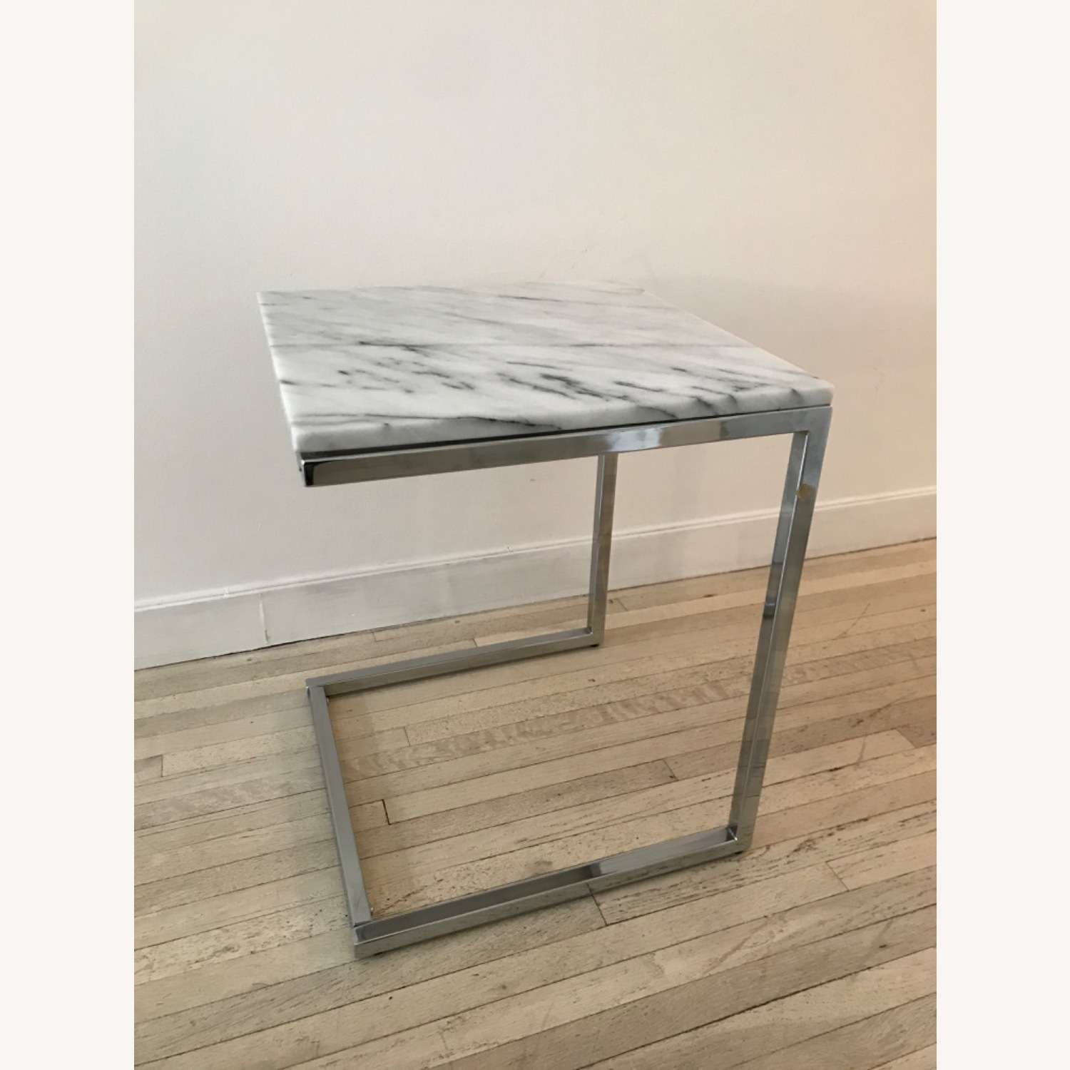 CB2 Smart Chrome C Table - image-1
