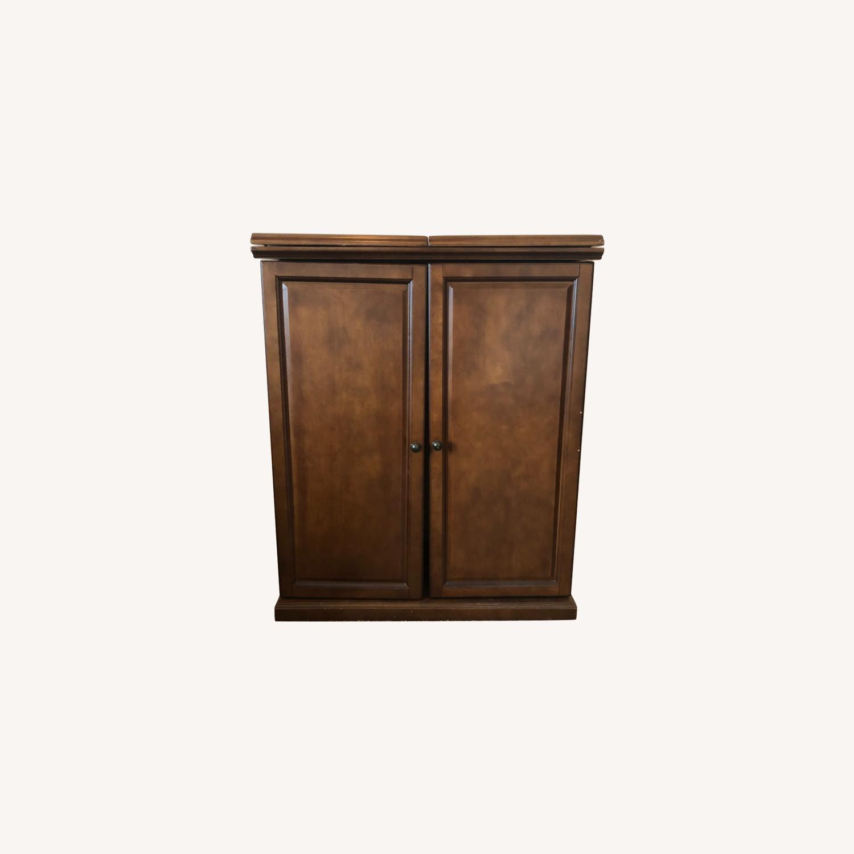 Wooden & Sturdy Bar Cart - image-0