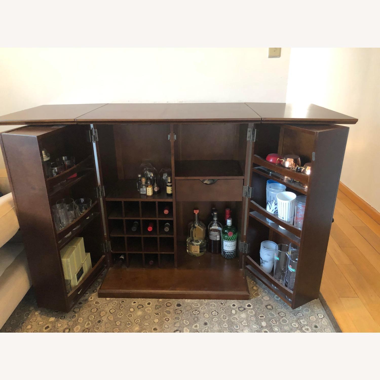 Wooden & Sturdy Bar Cart - image-7