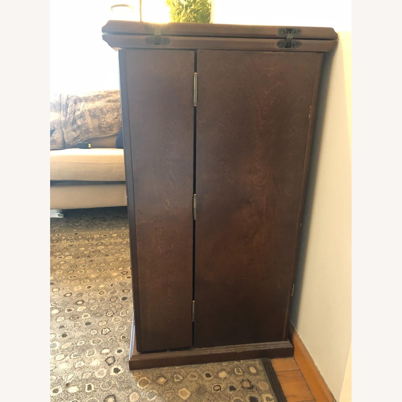 Wooden & Sturdy Bar Cart - image-3