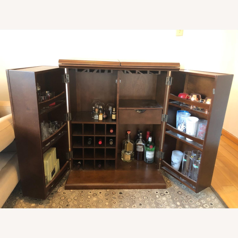 Wooden & Sturdy Bar Cart - image-6