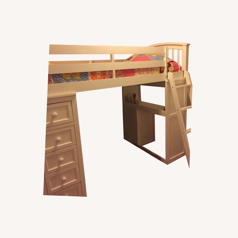 NE Kids Twin Size Loft Bed - image-0