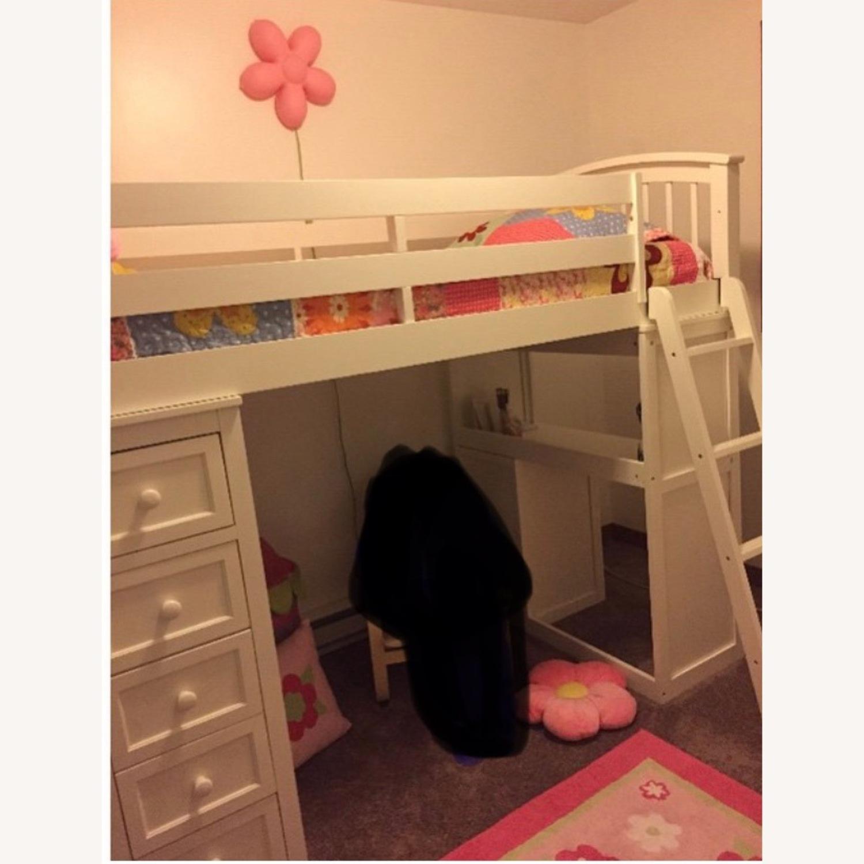 NE Kids Twin Size Loft Bed - image-1