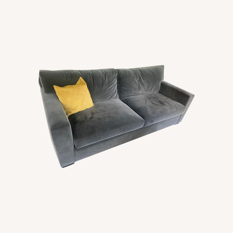 Crate & Barrel Queen Sleeper Sofa - image-0