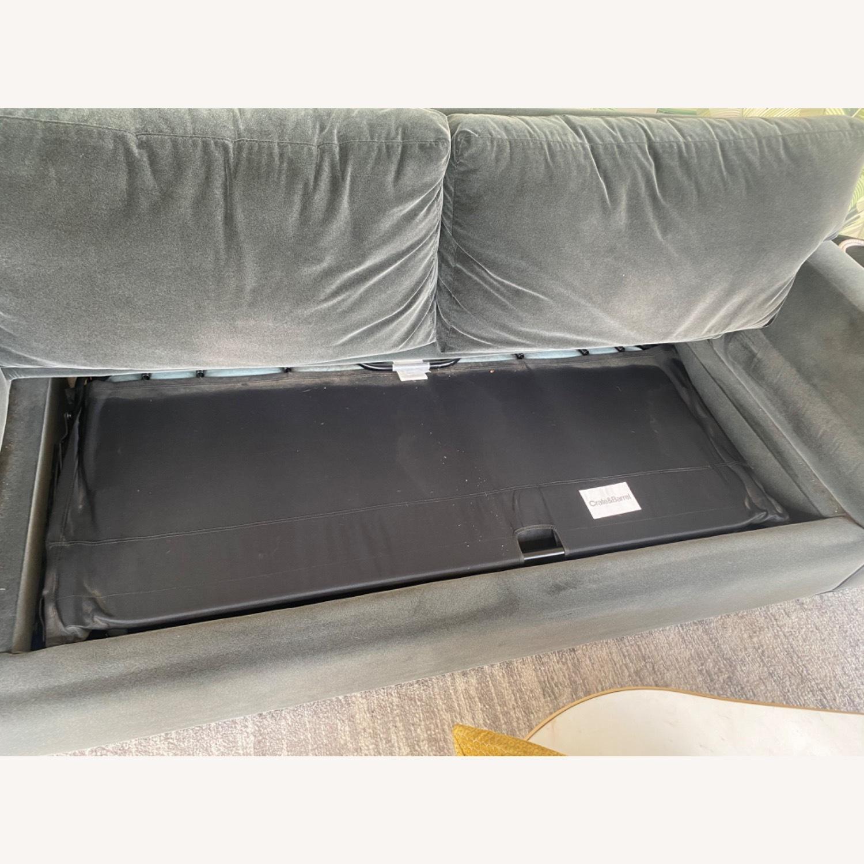 Crate & Barrel Queen Sleeper Sofa - image-4