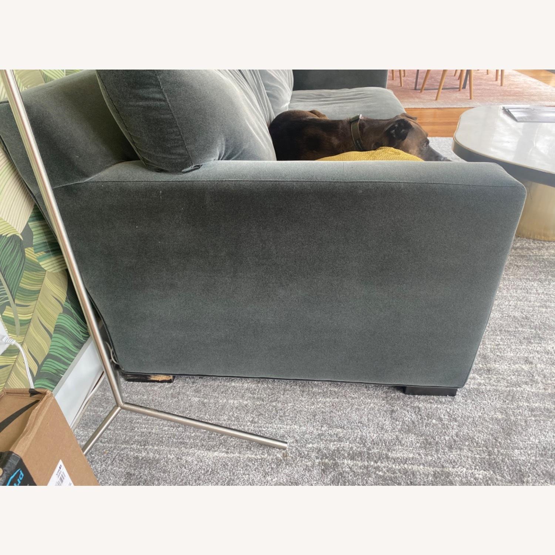 Crate & Barrel Queen Sleeper Sofa - image-2