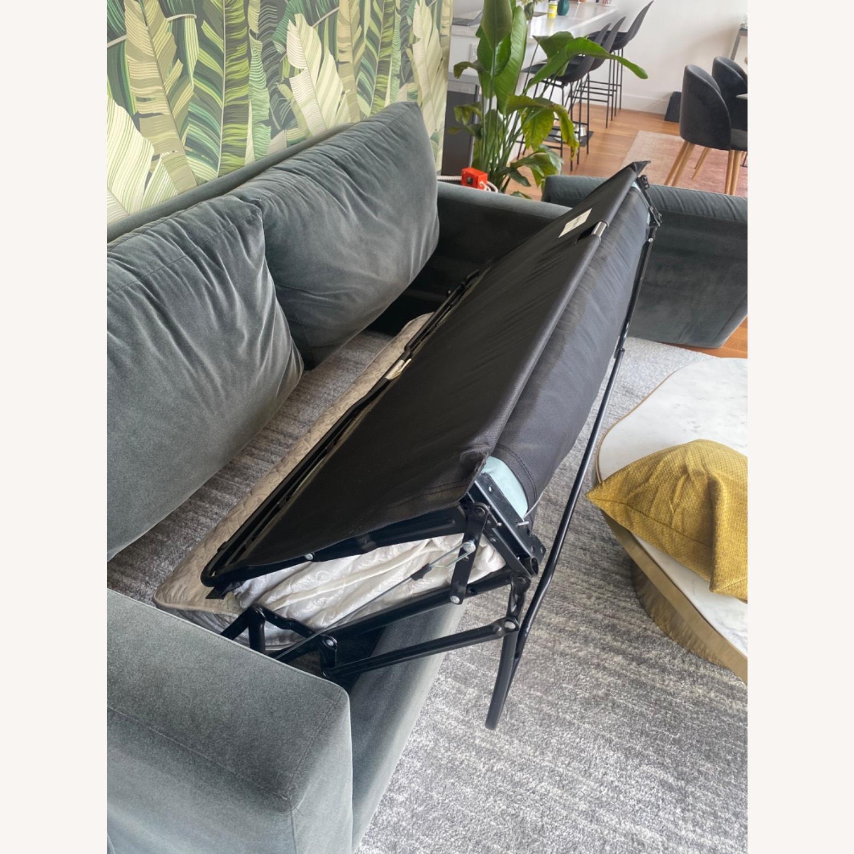 Crate & Barrel Queen Sleeper Sofa - image-6
