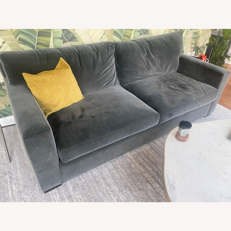 Crate & Barrel Queen Sleeper Sofa - image-1
