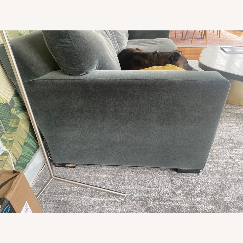Crate & Barrel Queen Sleeper Sofa - image-3