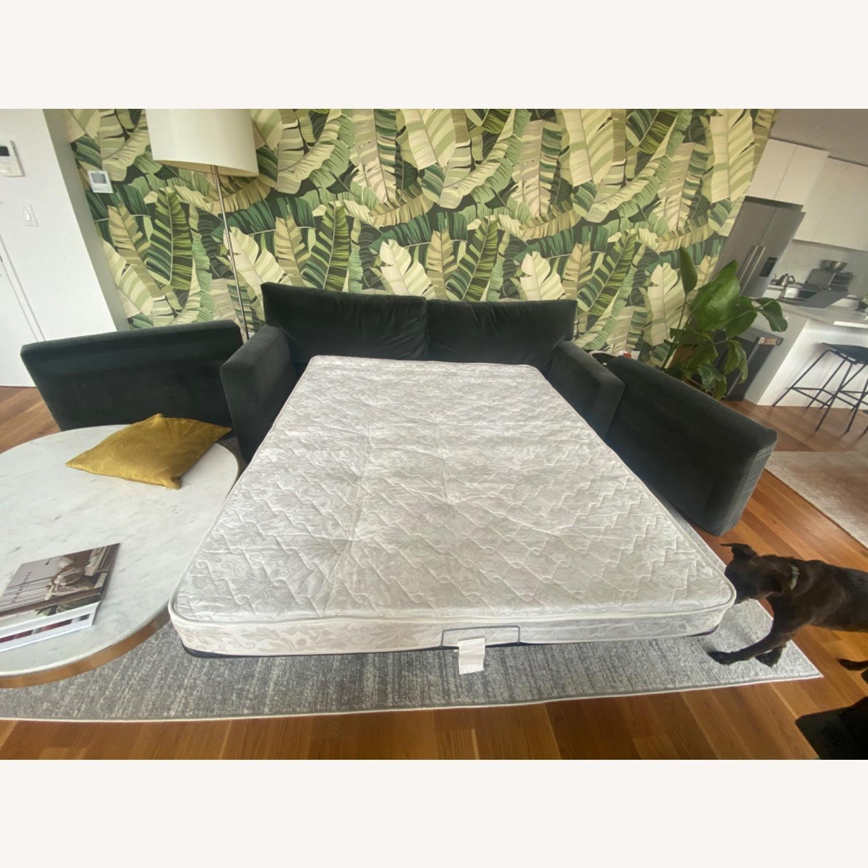 Crate & Barrel Queen Sleeper Sofa - image-5