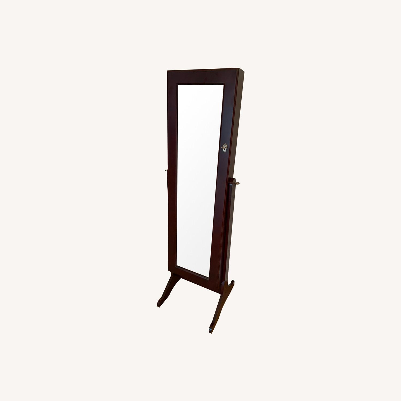 Wayfair Full-length Jewelry Storage Mirror - image-0