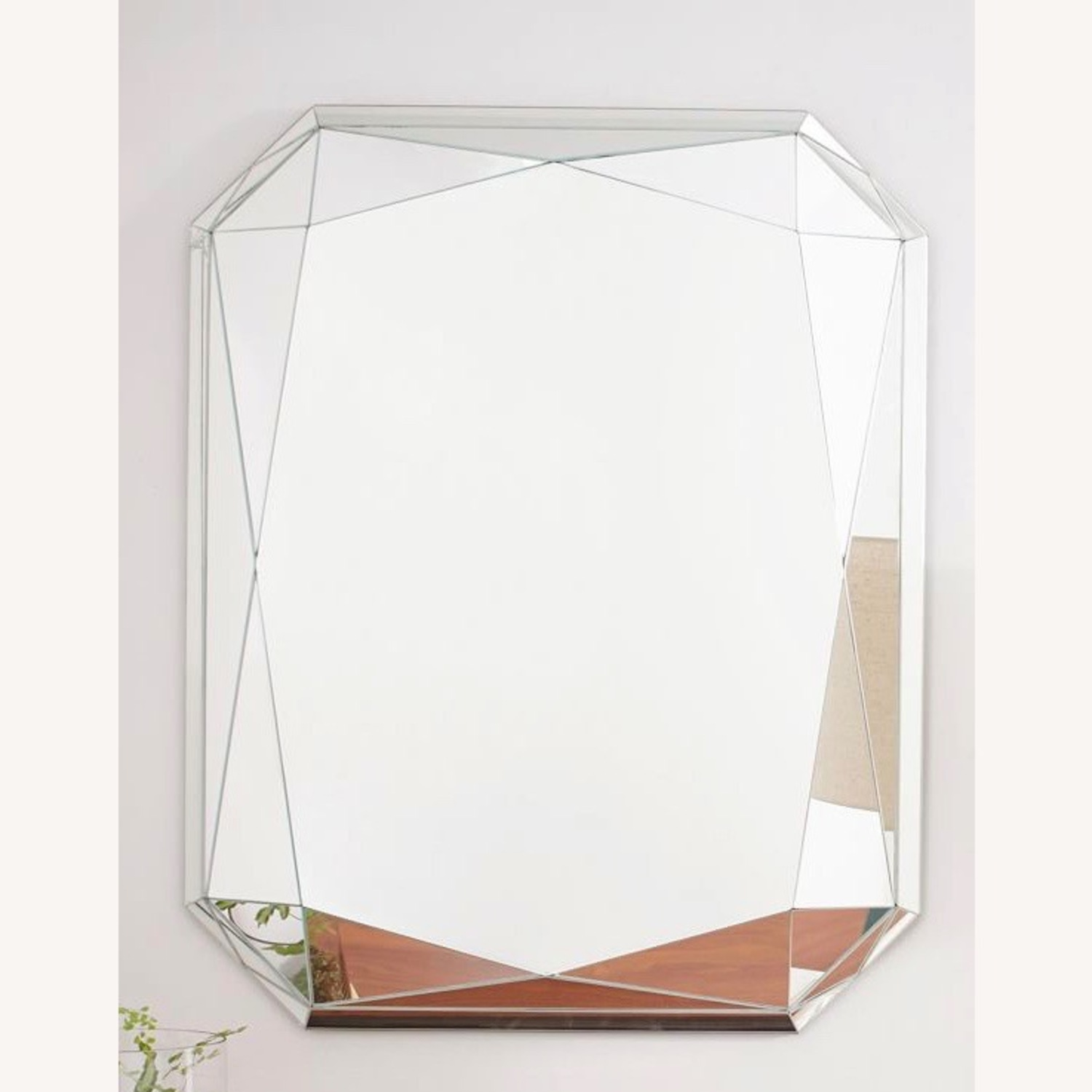 West Elm Faceted Wall Mirror - image-3