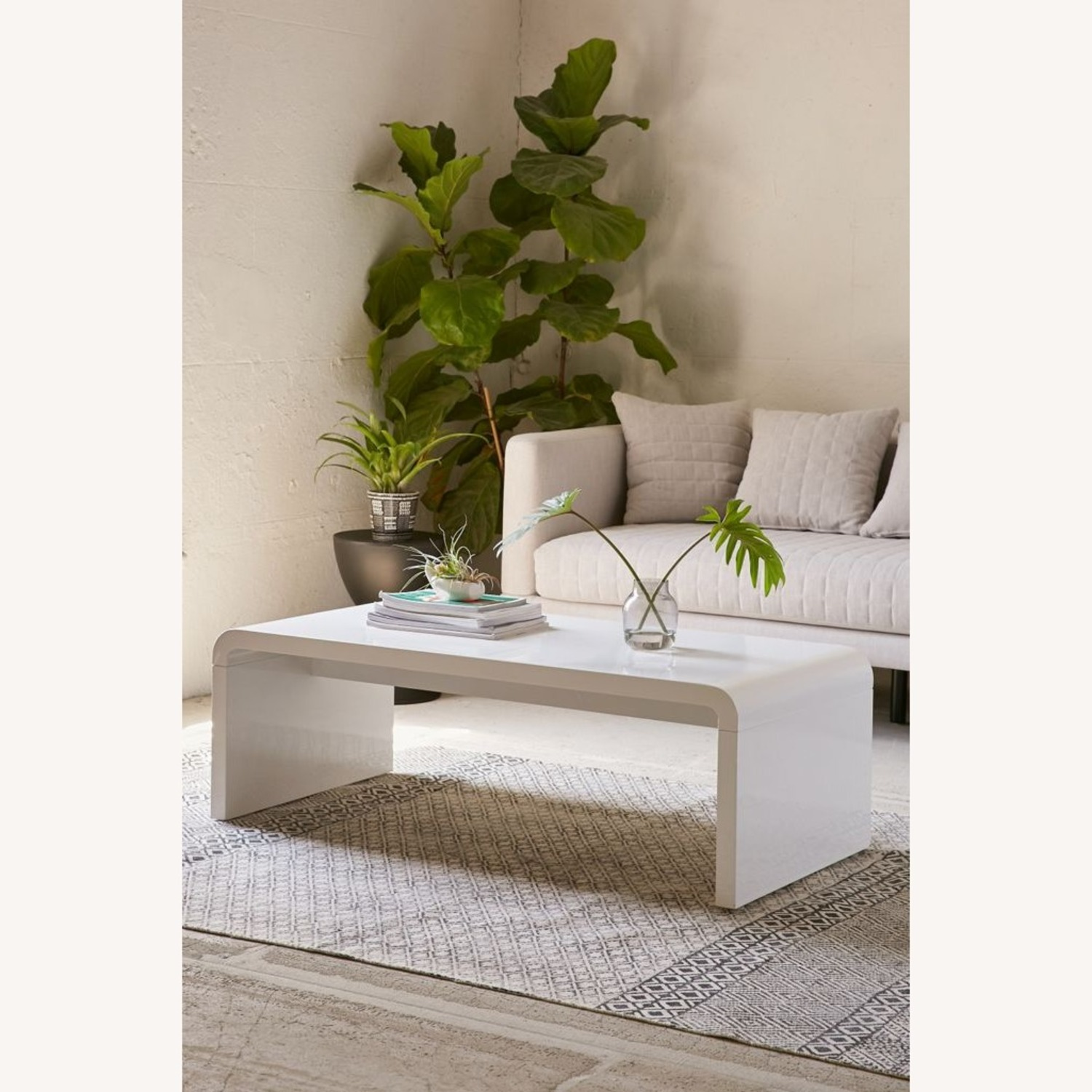 Urban Outfitters Hamilton Curved Coffee Table - image-1