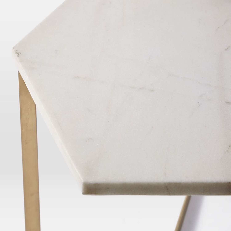 West Elm Hex Side Table - image-3