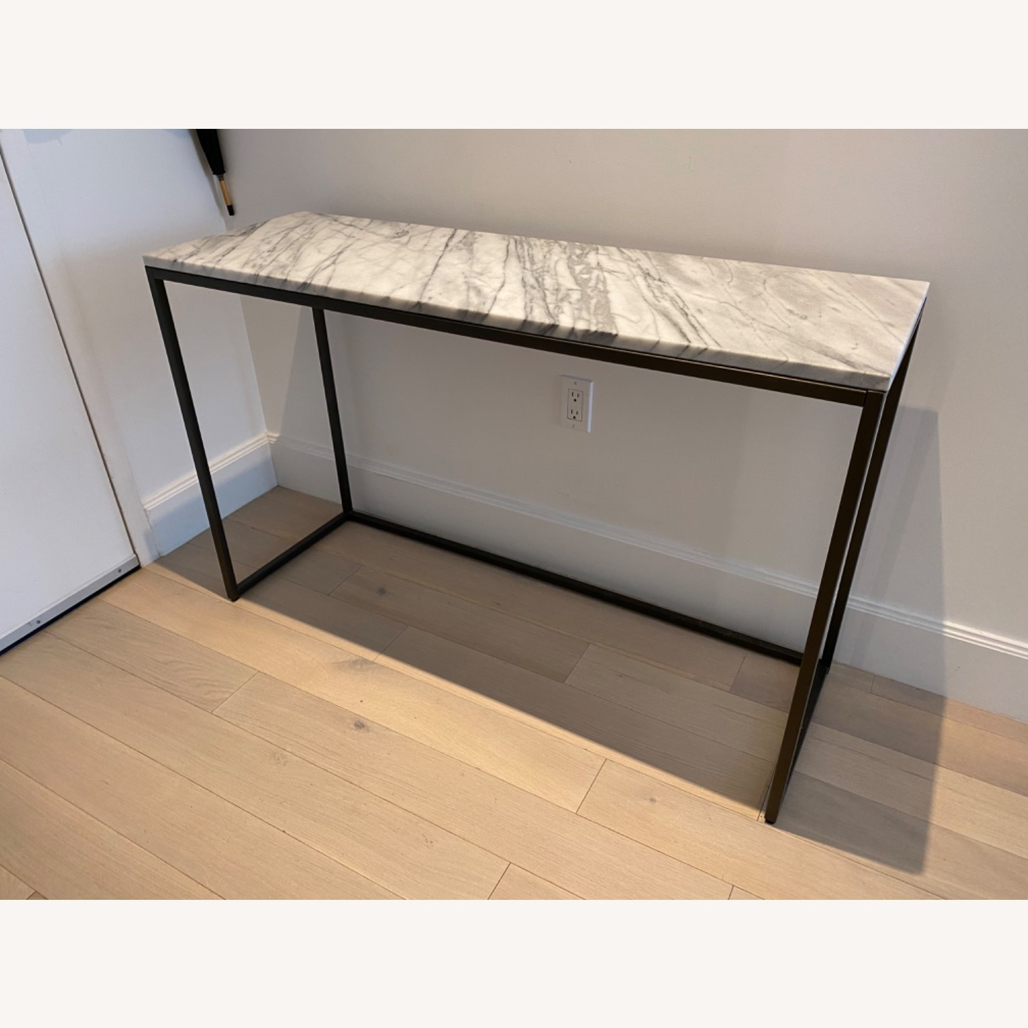 West Elm Marble Console Table - image-4