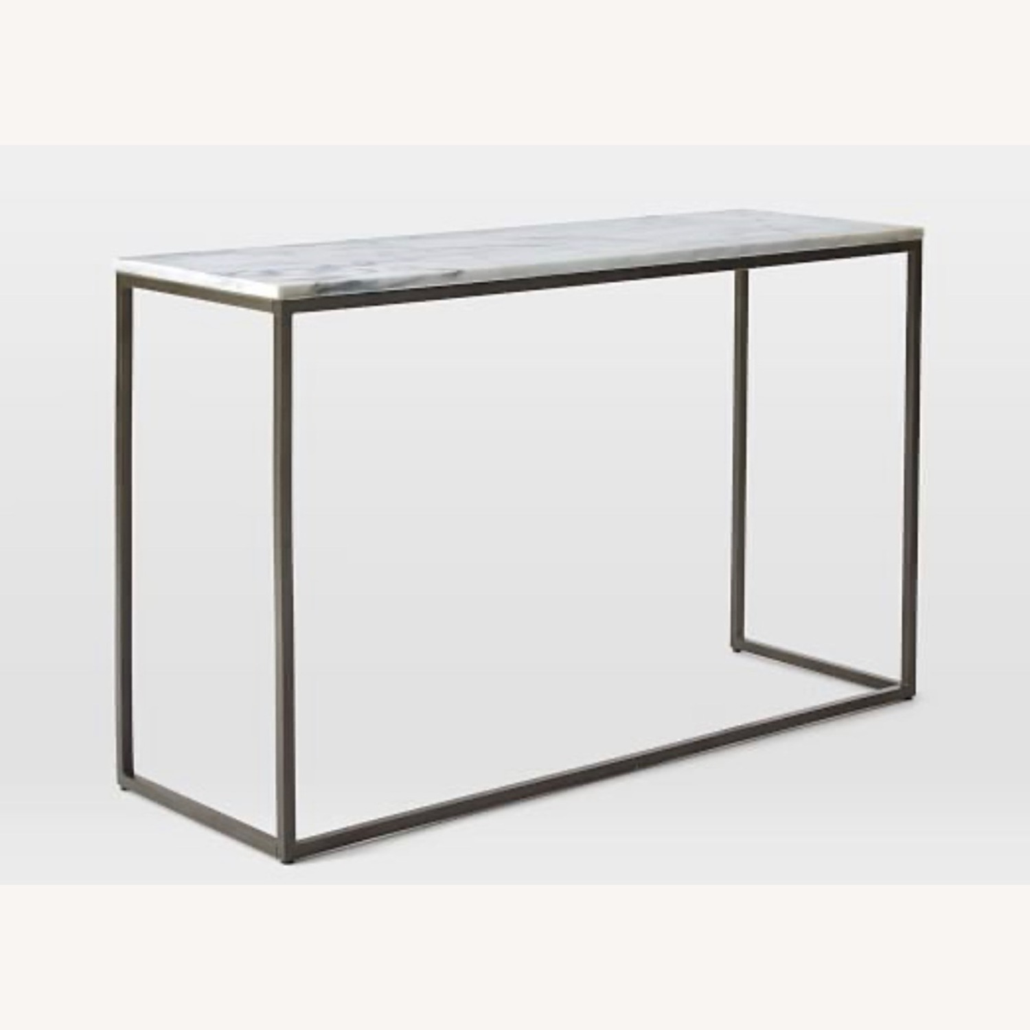 West Elm Marble Console Table - image-5