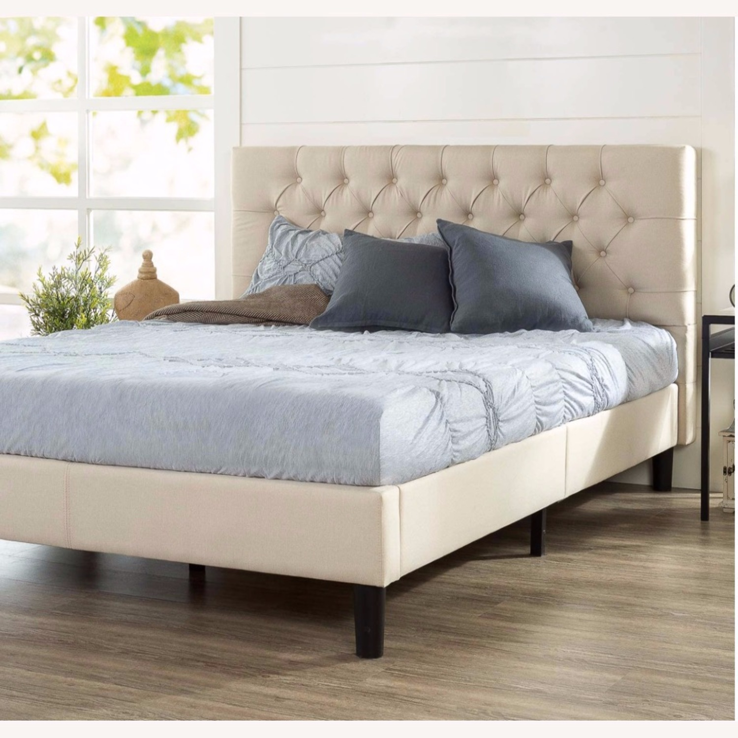 Zin Home Full Tufted Bed Frame - image-3